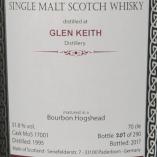 MOS Glen Keith 1995 label