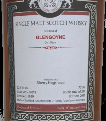 MOS Glengoyne 1999 Sherry