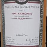 MOS Port Charlotte 2002 label