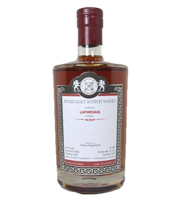 MOS Laphroaig 2000 bottle